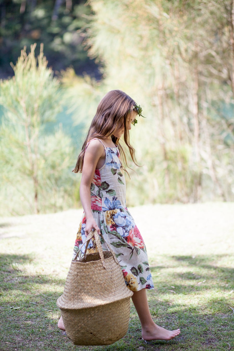 Image of Joni Dress - Tropicana Print
