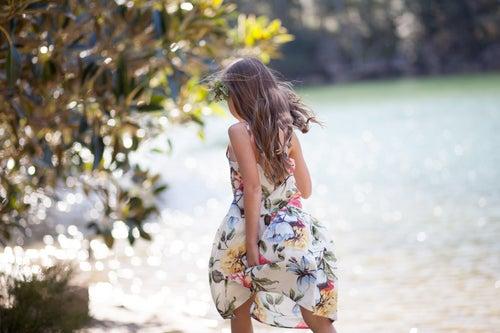 Image of Joni Dress - Tropicana Print