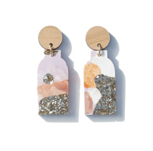 Image of Vessel Earrings - Earth