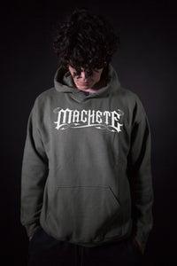 """Image of """"Machete Empire"""" hoodie military green"""
