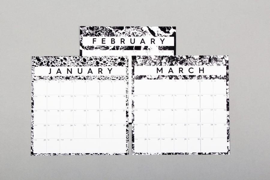 Image of 2018 Pinboard Calendar Refills