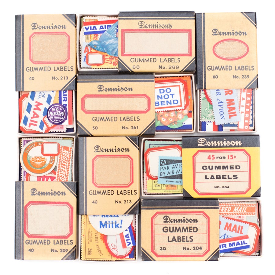 Image of Dennison Box with Ephemera