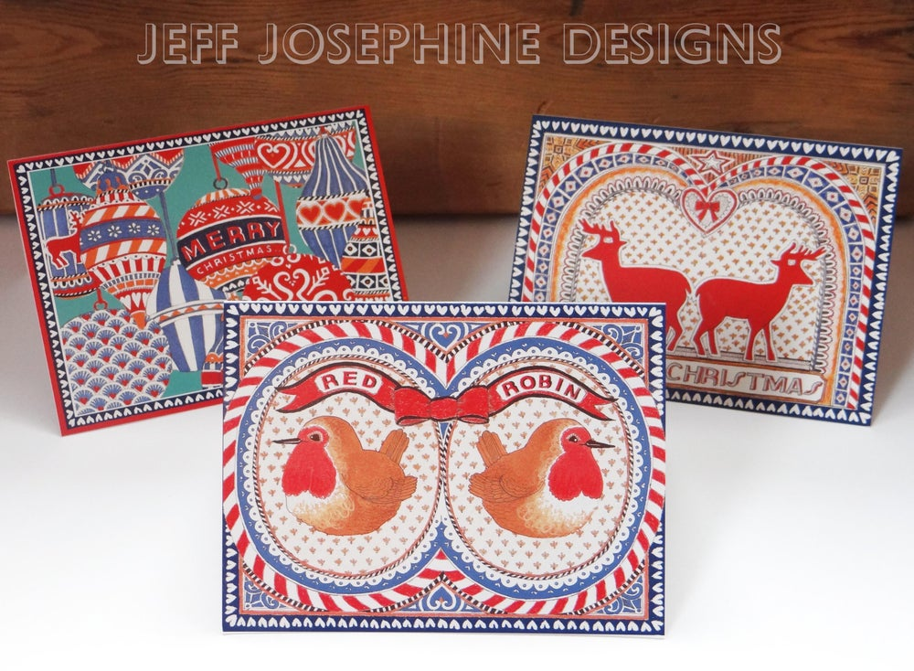 Image of Christmas Cards - 3 Designs