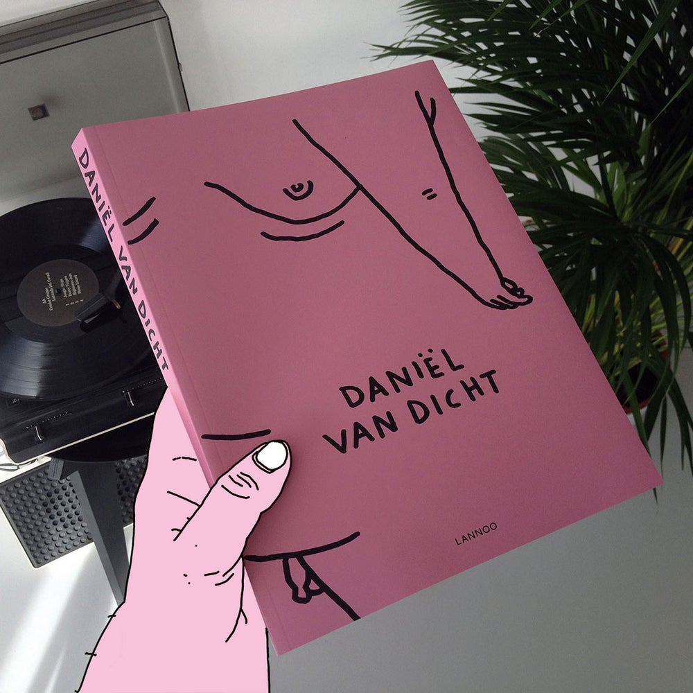 Image of Daniël van dicht (gesigneerd met tekening)