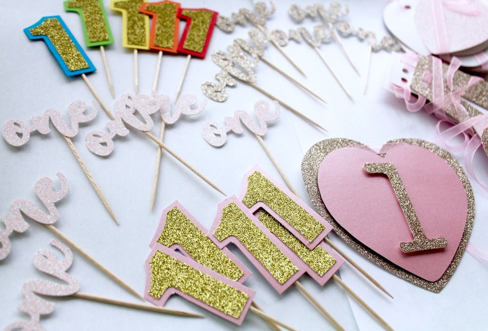 Image of Cake, cupcake and treat toppers