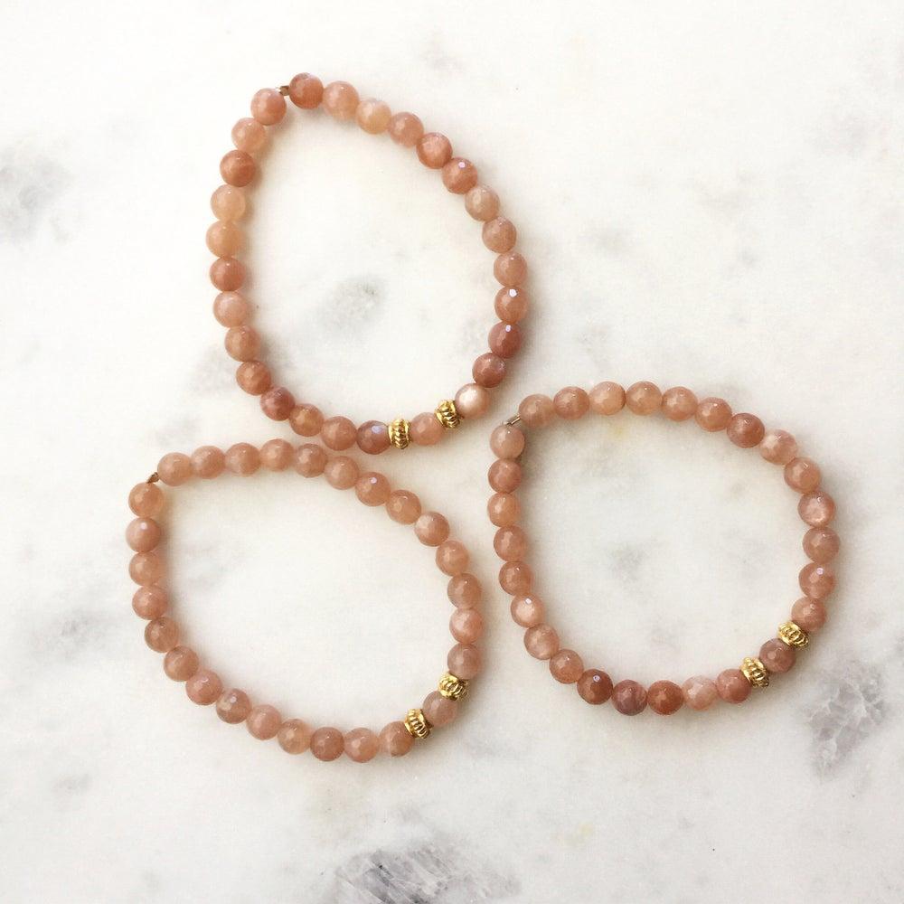 Image of Peachy Pink Bracelets