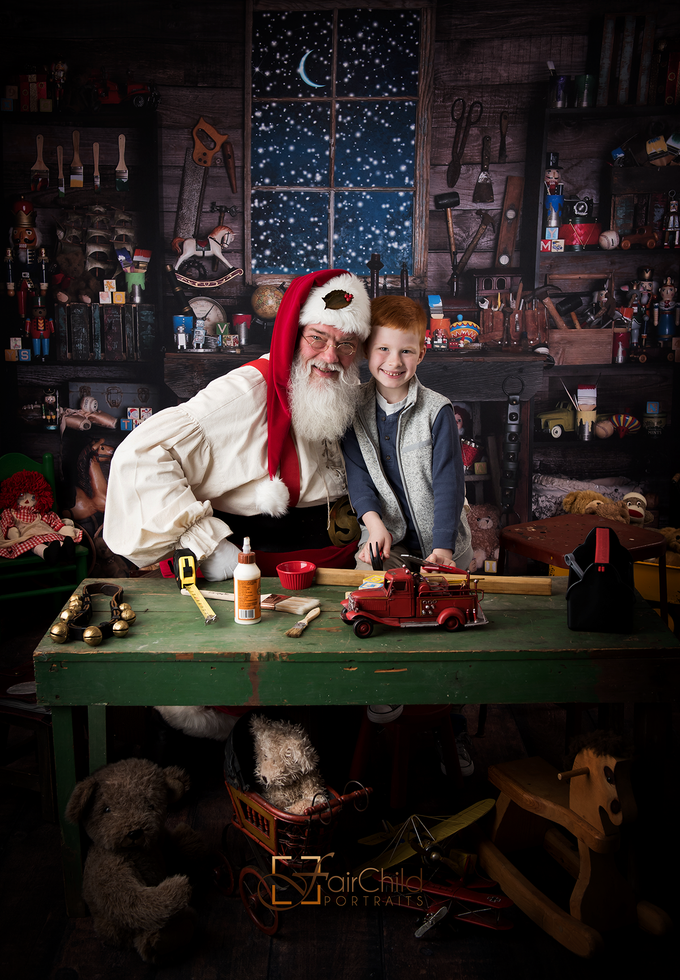 Image of Santa's Workshop mini Sessions-  Saturday, November 25th 2017