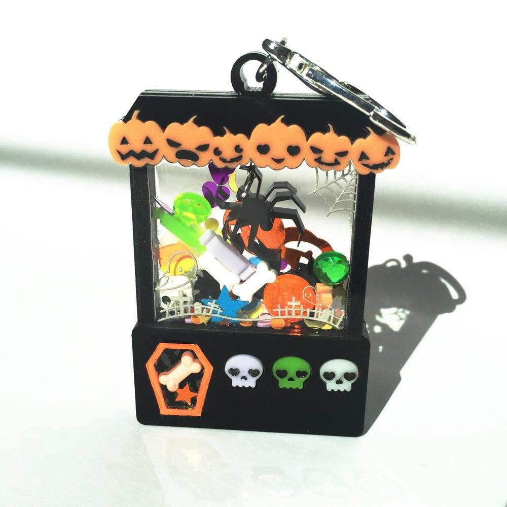 Image of Spooky Cute Halloween Crane Game charm Black