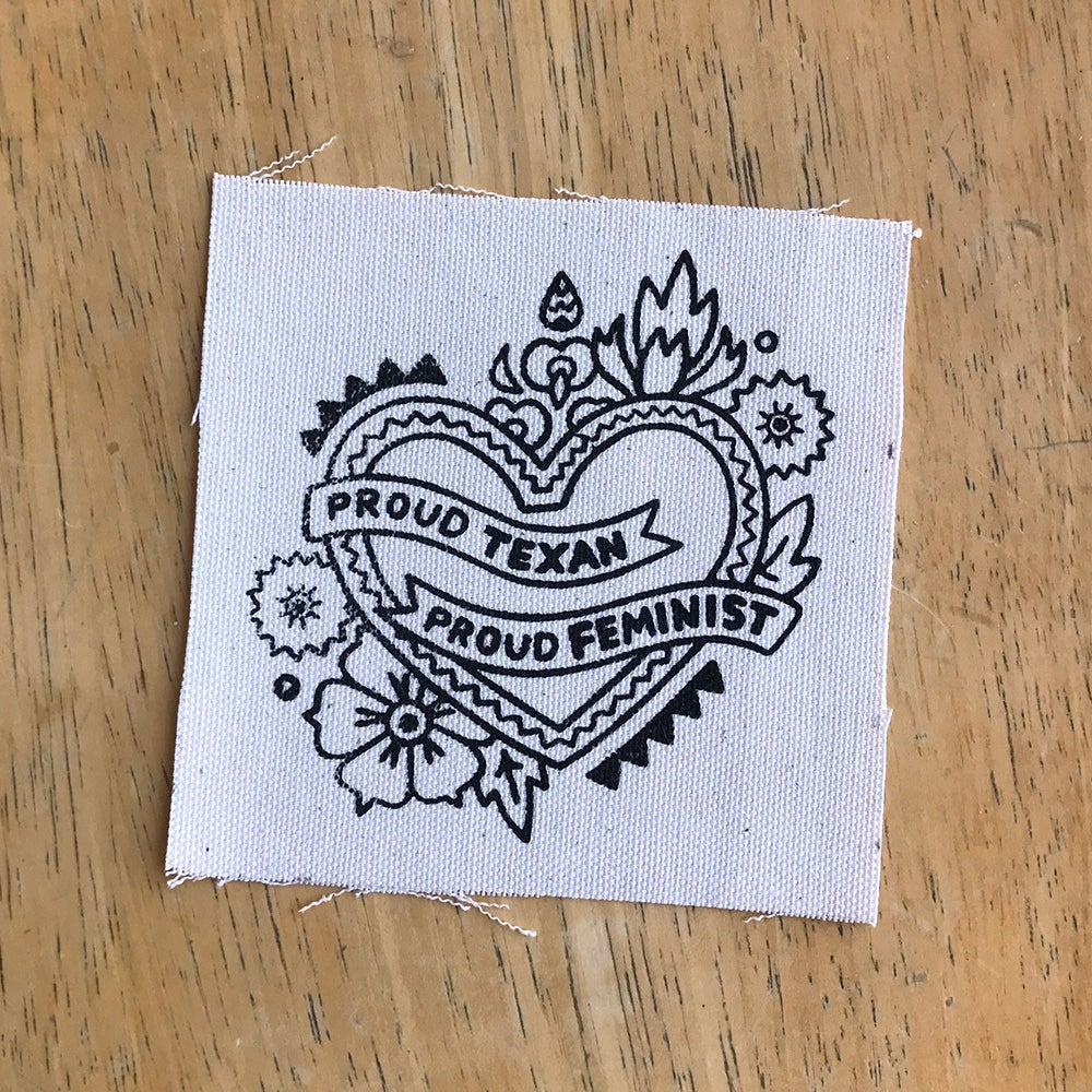 Image of Canvas Patch - Texan Feminist