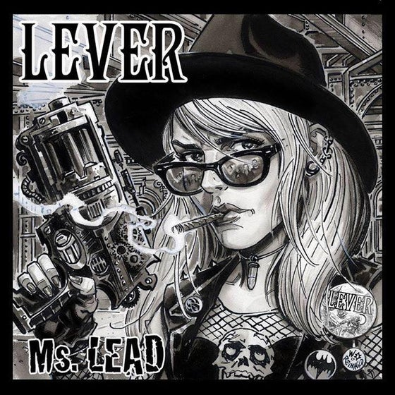 """Image of Lever - """"Ms. Lead"""" EP Compact Disc"""
