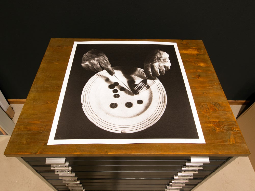 Image of Peter Kennard · Values · Screen Print Edition