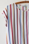 Image of SOLD Stripes Of Fancy Lightweight Blouse