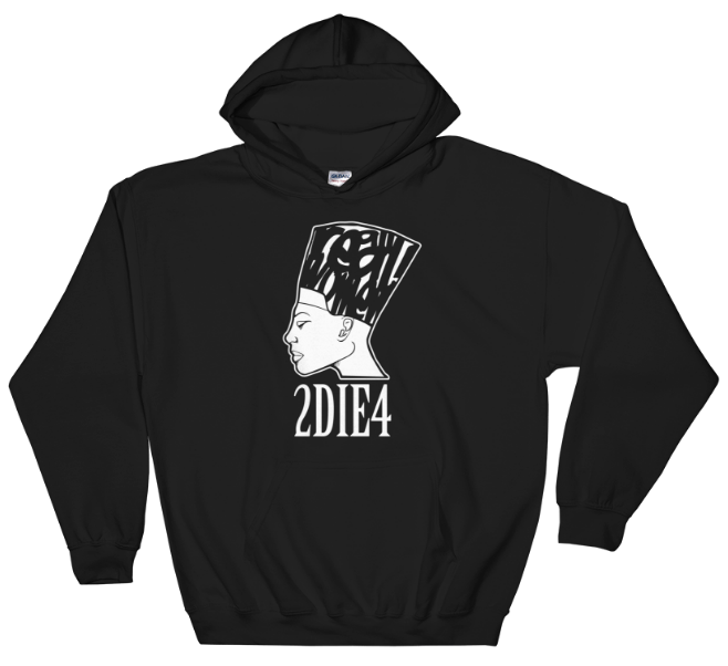 Image of 2 Die 4 (Black Hoodie)