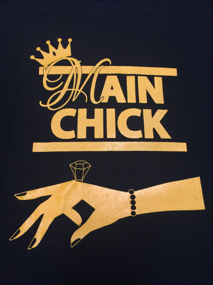 Image of Main Chick Ring Maxi Ylw