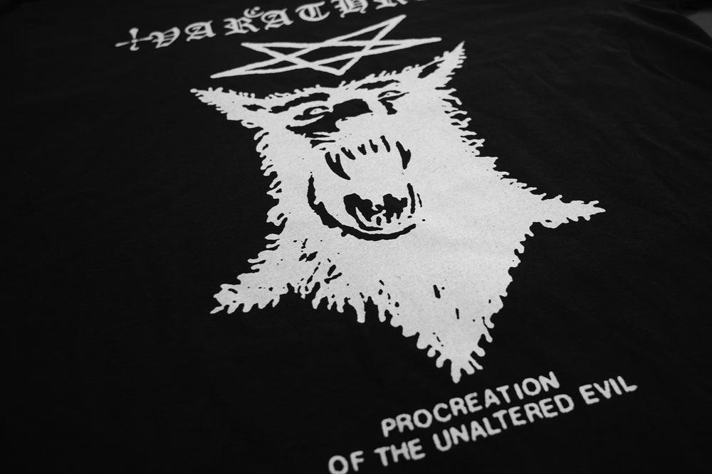 Image of VARATHRON - PROCREATION OF THE UNALTERED EVIL Black TS