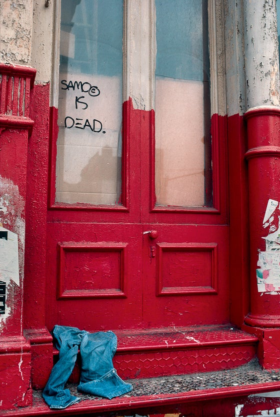 Image of SAMO is Dead, New York, NY 1981