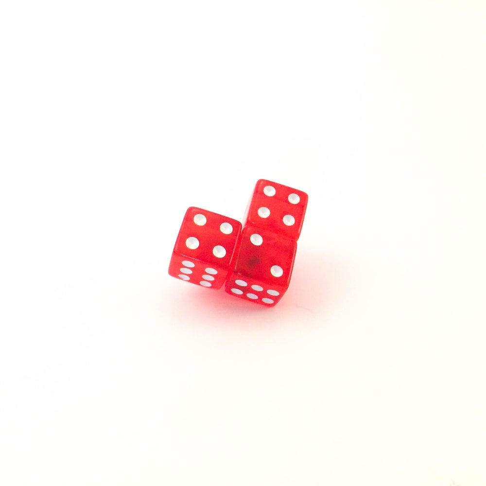 Image of Love Dice Lapel Pin