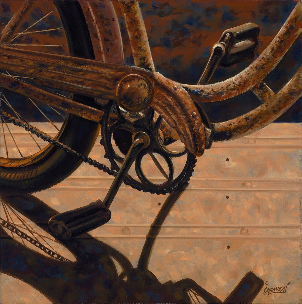 Image of Rusty Bicycle