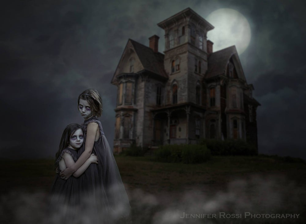Image of House of Hauntings Digital Backgrounds
