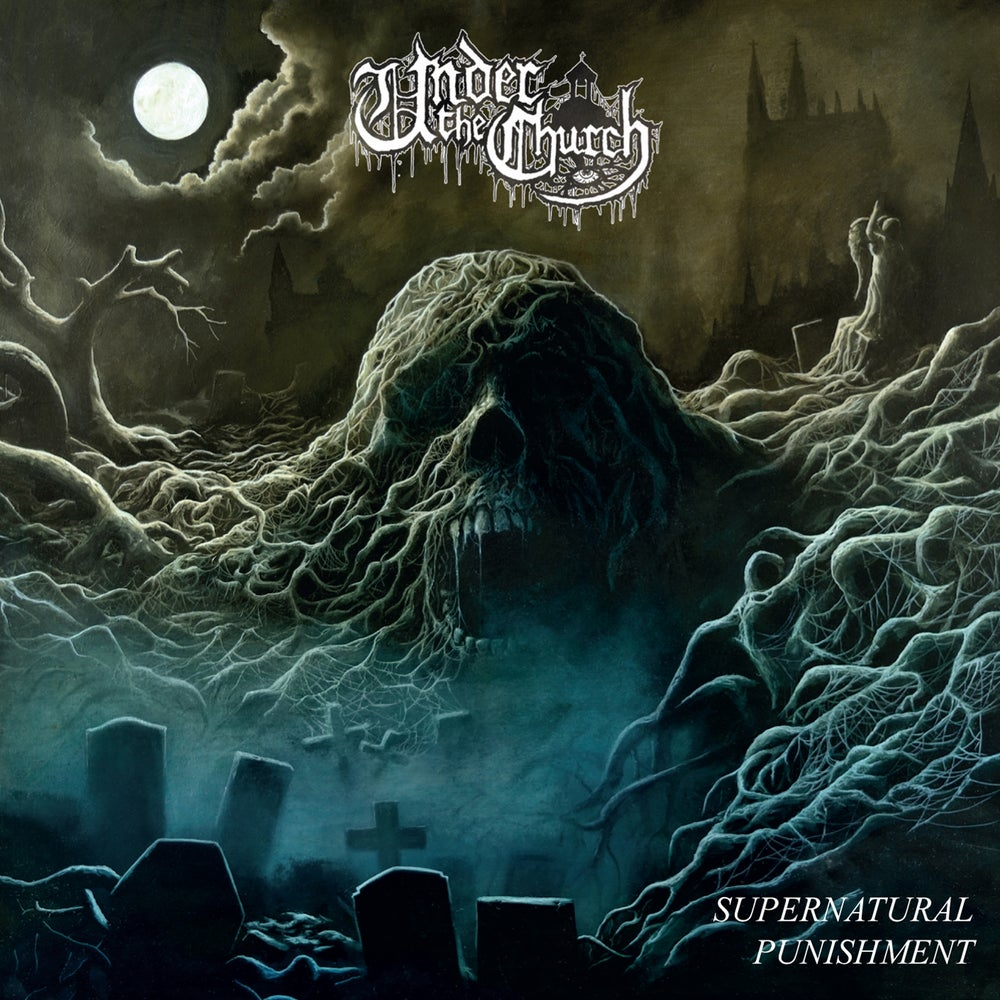 "Image of UNDER THE CHURCH ""Supernatural Punishment"" LP"