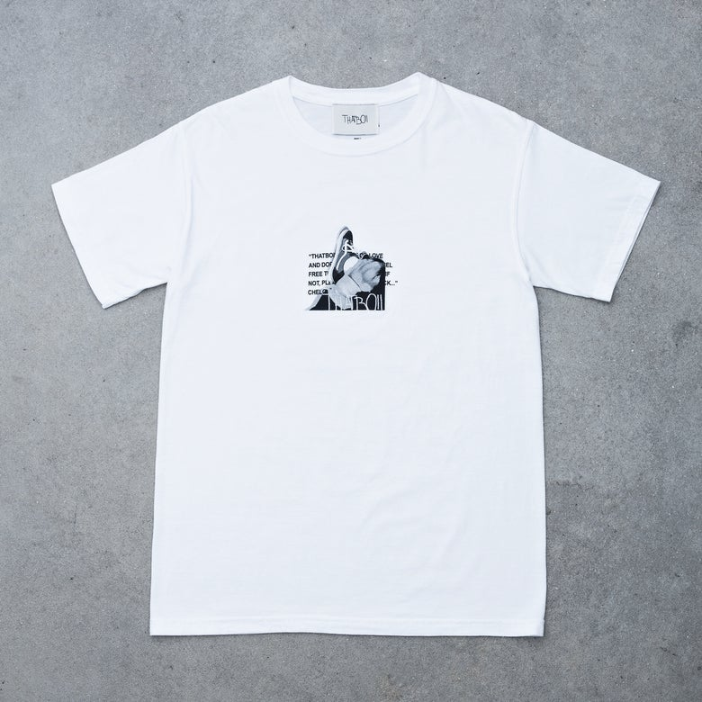 Image of THATBOII TEE - WHITE