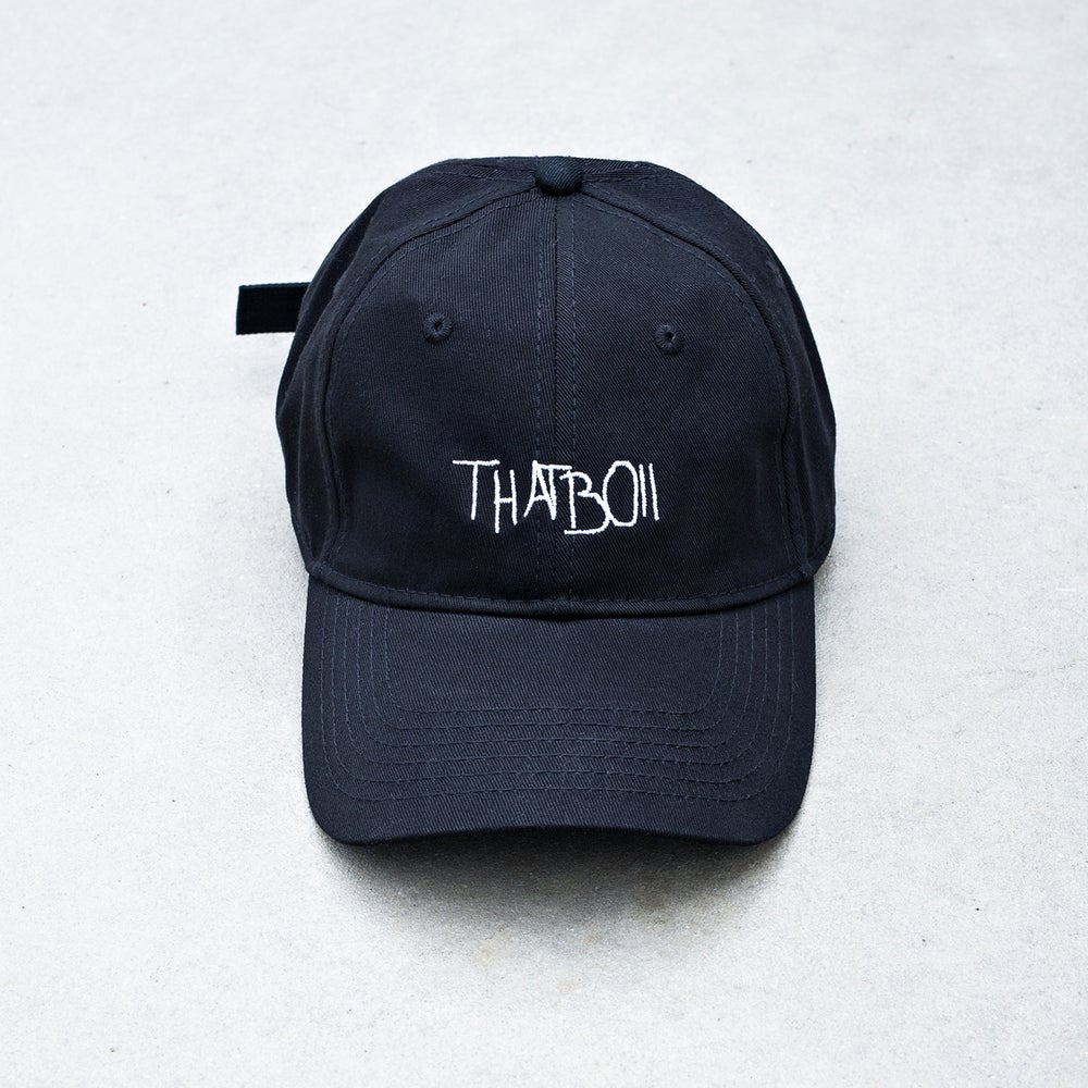 Image of THATBOII CAP - BLACK