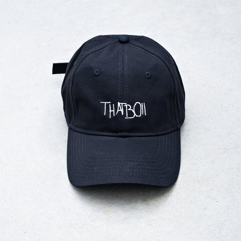Image of THATBOII CAP - BLACK