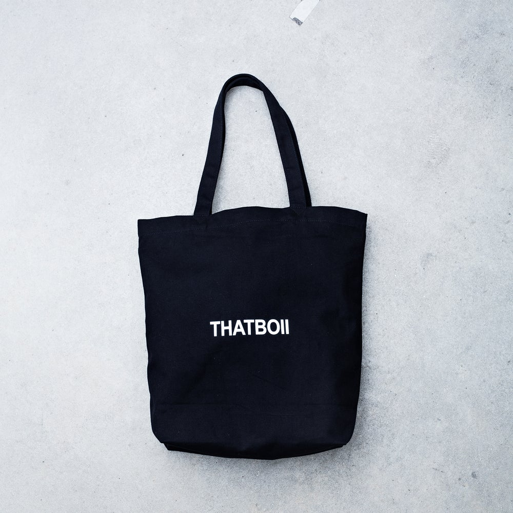 Image of THATBOII BAG - BLACK