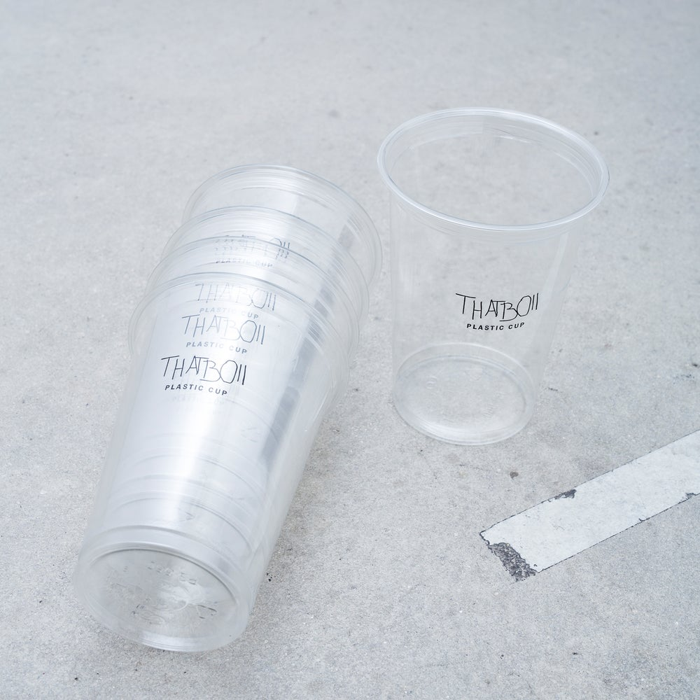 Image of THATBOII - PLASTIC CUPS
