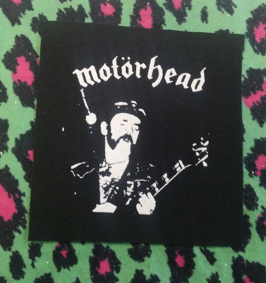 Image of Pick 1 patch - Fuck Trump, I love pogo, sex, lemmy motorhead