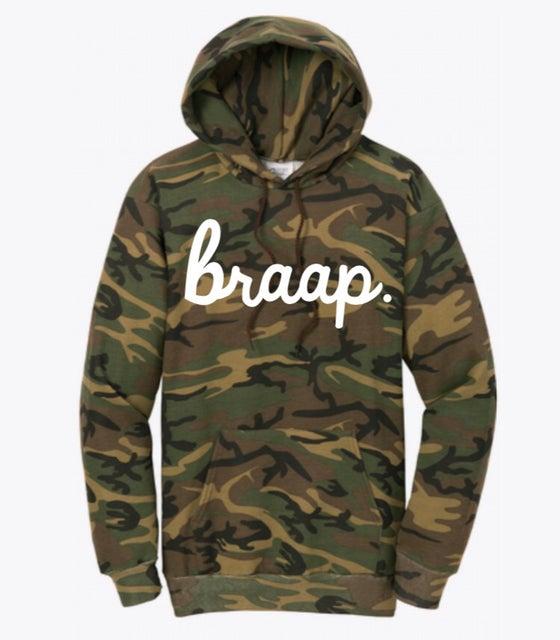 Image of Camouflage Braap Hoodie