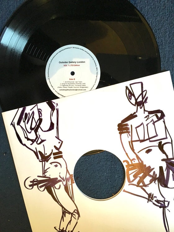 Image of Outsider Gallery Vinyl Album and Print