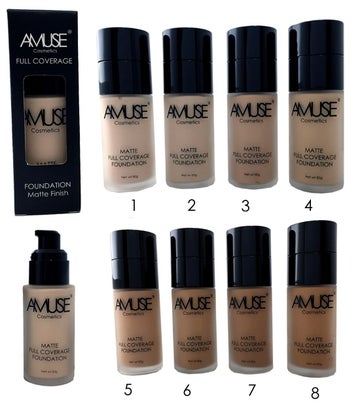 Image of Amuse Cosmetics Full Coverage Foundation