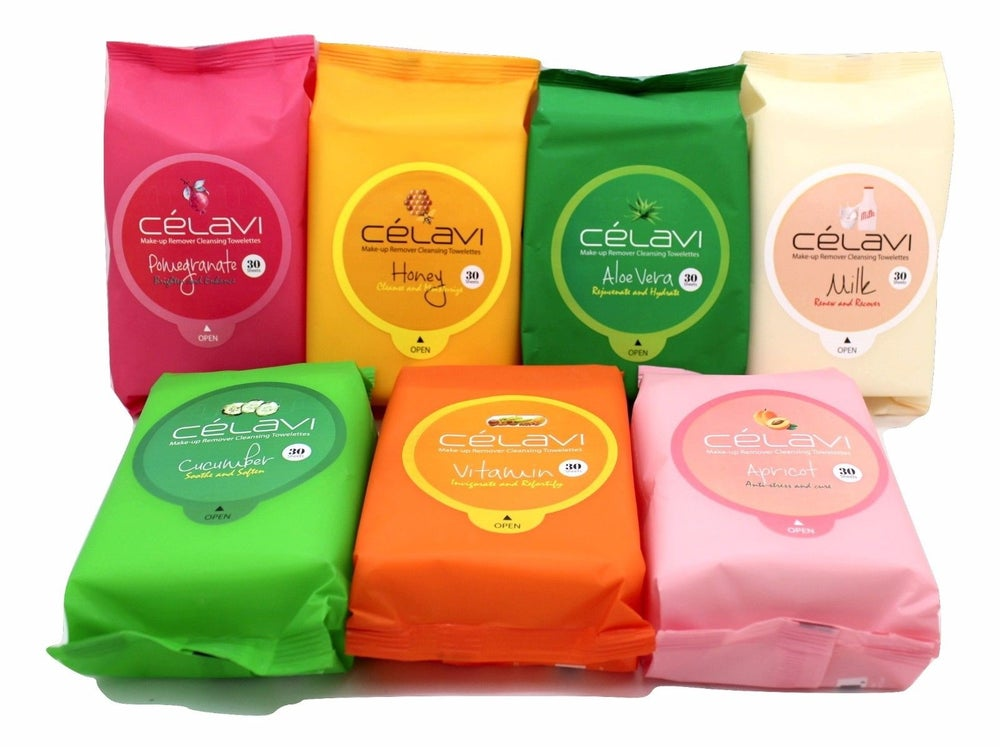 Image of Celavi Makeup Remover Cleansing Towelettes