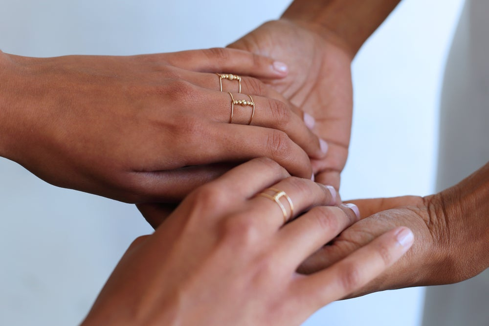 Image of Bague double