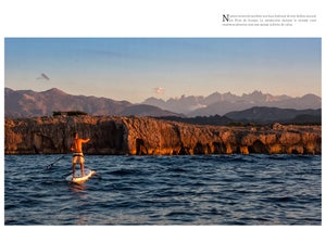 Image of Stand Up Paddle Surf alrededor de los Picos de Europa.