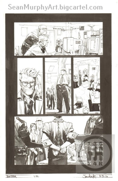 Image of Batman: White Knight #1, page 22