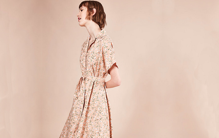 Image of Vestido BONNIE Retro flores