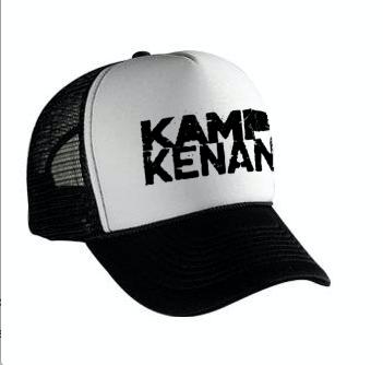 Image of Kamp Kenan - B/W Trucker Hat