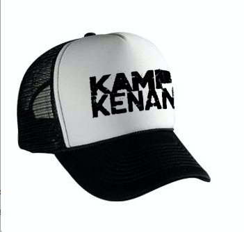 Image of Kamp Kenan - B/W Trucker Hat