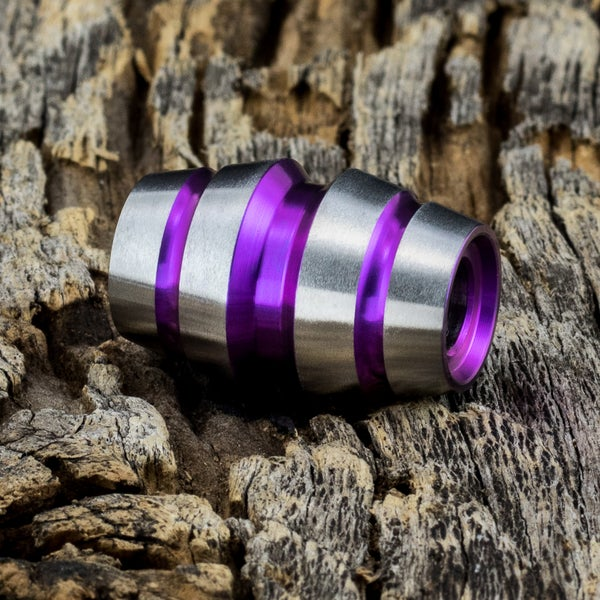 Image of Raptor Wicked Orchid Ti Bead #1