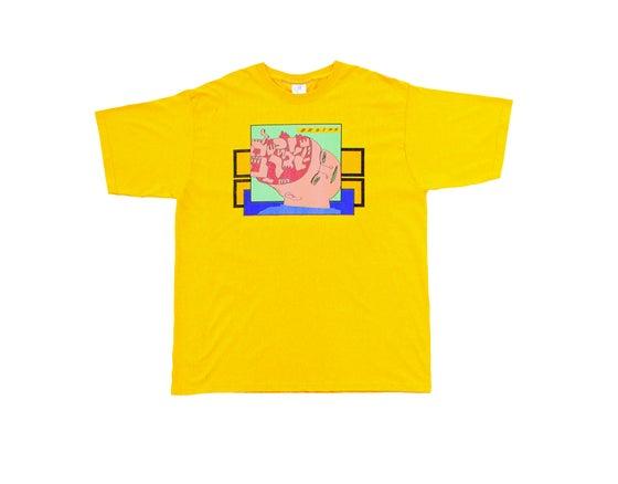 Image of Broski - Brain Broth T Shirt Gold