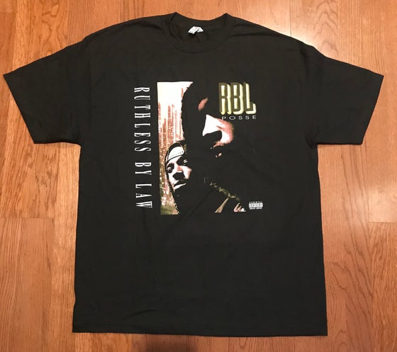 "Image of RBL Posse ""Ruthless By Law"" Album Tee"