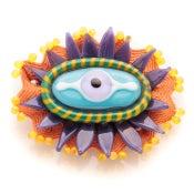 Image of eye brooch
