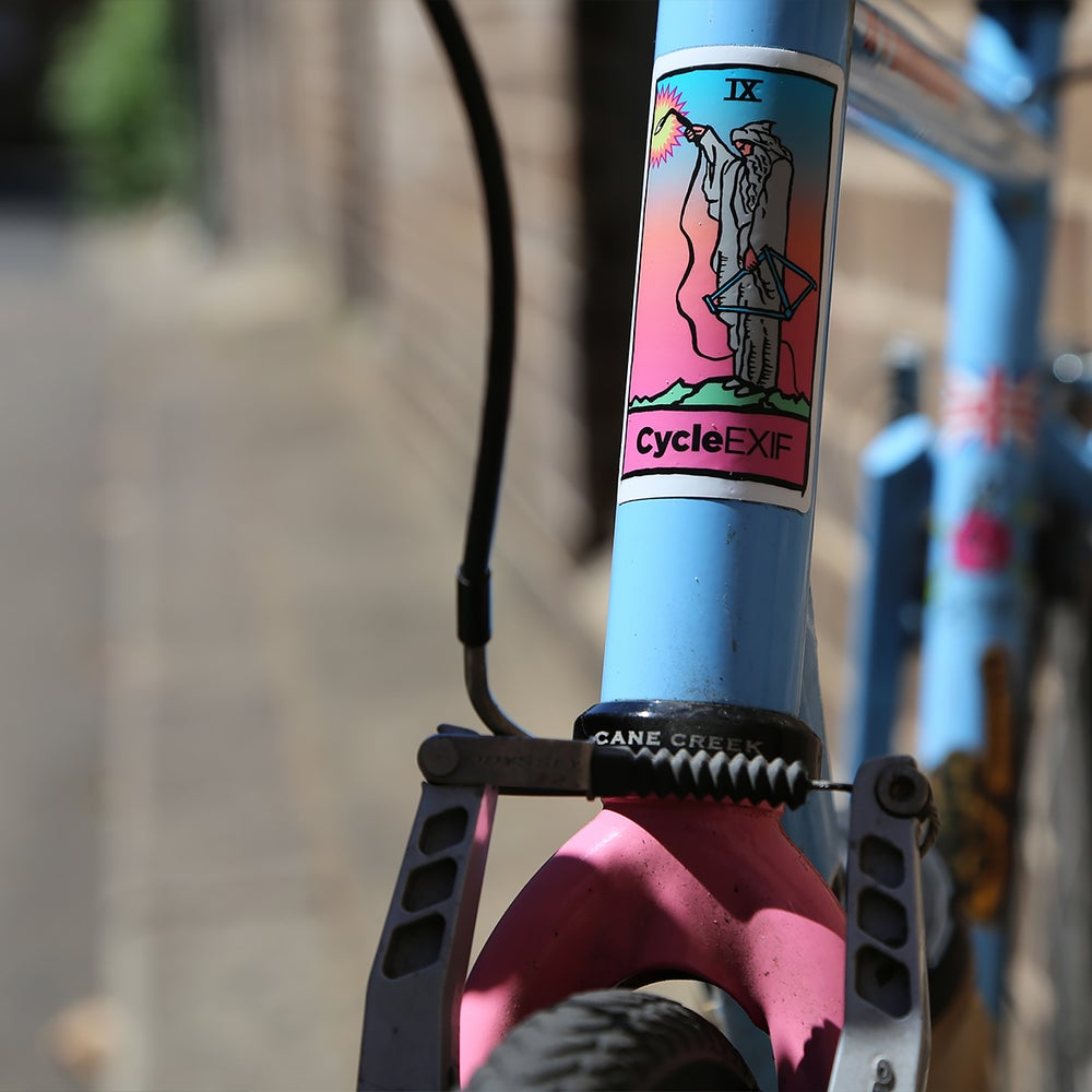 Image of Cycle EXIF Hermit Sticker