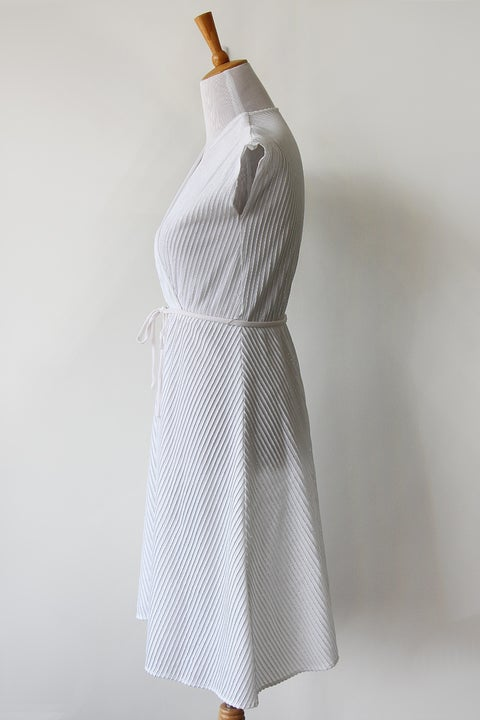 Image of SOLD Sparkling Strands White Dress