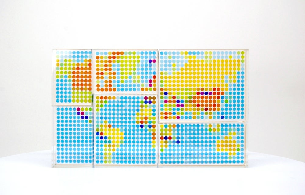 Signed art prints by yoni alter world map clear puzzle image of world map clear puzzle gumiabroncs Choice Image