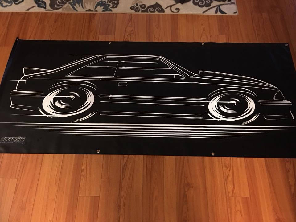 Image of '93 Cobra Banner