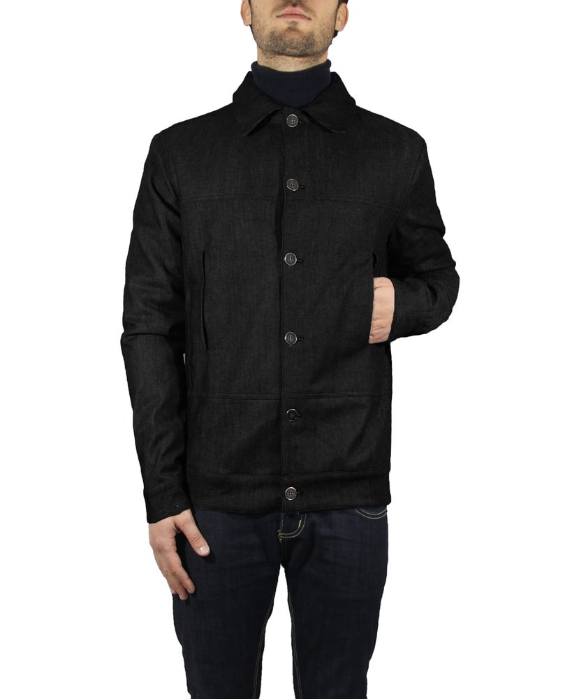 Image of BLACK DENIM JACKET