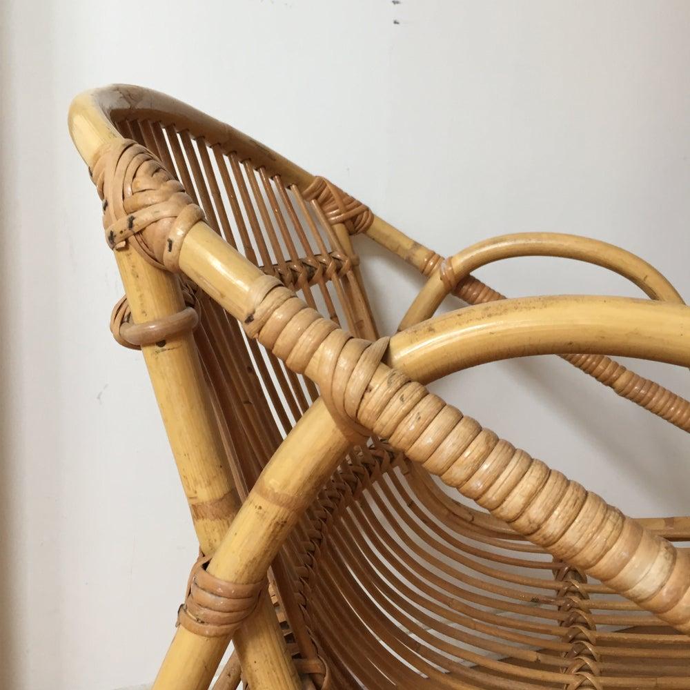 Image of Oscar, fauteuil en rotin
